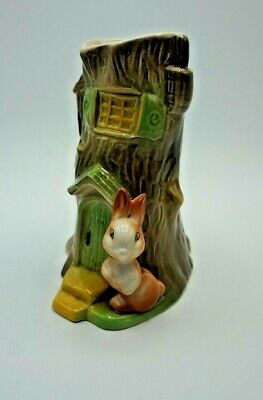 Vintage Withernsea - Eastgate Pottery Fauna E90 Bunny Vase - **collectable** VGC • 7.50£
