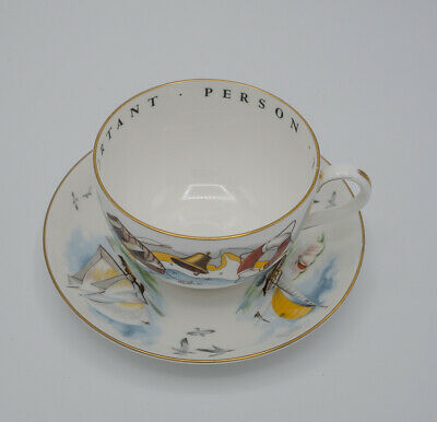 Royal Worcester  Hole In One  Very Important Person Cup/saucer • 1.20£