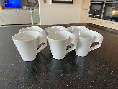 Villeroy And Boch New Wave Fine China Porcelain Coffee Tea Mug Cup. Right Handed • 72£