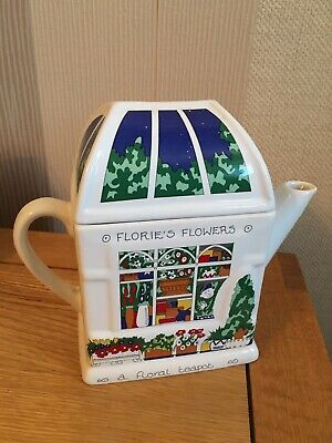 Wade England Flories's Flowers  A Floral Teapot  Old English Life Smith & Wooton • 5.90£