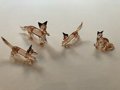 Glass Fox Ornaments  • 15£