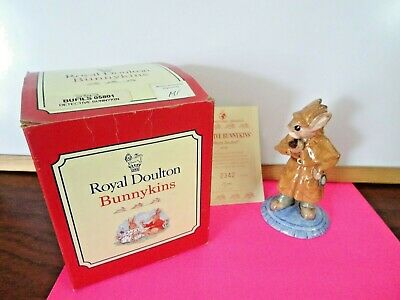 Bunnykins Detective /sherlock Holmes Boxed And With Certificate • 24.50£
