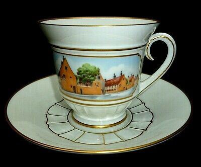 Vintage Cup And Saucer-danish Porcelain-bing And Grondahi-copenhagen-limited • 12.95£