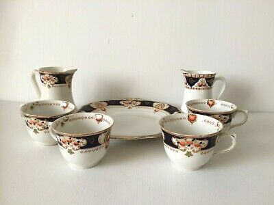 Antique Wye And Royal Vale Coronation Ware Plate, Cups And Jugs • 5£