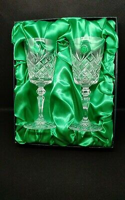 Galway Crystal Wine Glasses    Perfect Condition • 15£