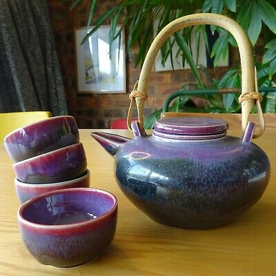 Ceramic Japanese Tea Set - Boxed And Immaculate - No Reserve! • 15£
