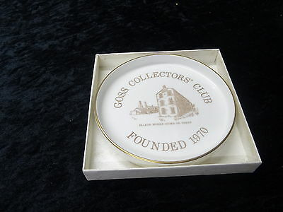 China - Goss Collectors Dish Issued To Commemorate It's Foundation. Still In Box • 24.99£