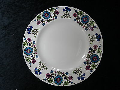 C1960/70's Midwinter China (26.5cm) Dinner Plate With Country Garden Pattern. • 14.99£