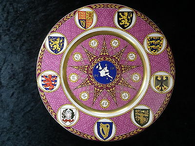 Caverswill China Plate. Convening Of The 1st European Parliament In 1979 • 49.99£