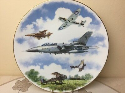 Royal Doulton Royal Airforce 75th Anniversary 1918-1995 Collectors Plate Perfect • 12.99£