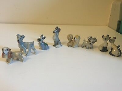 Collection Of Disney  Lady And The Tramp Figurines  • 75£