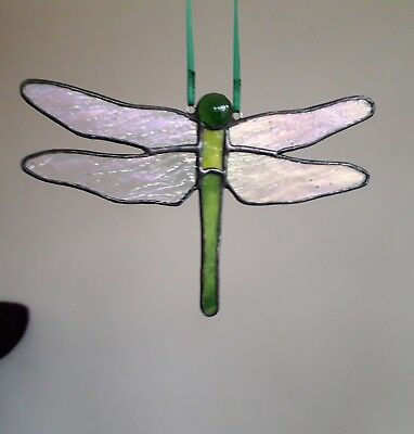 Stained Glass Handmade Dragonfly By 'Faith Stained Glass'  • 12.99£