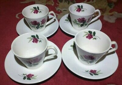 Lord Nelson China Red Roses Tea Set • 8£