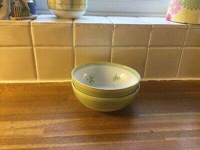 Marks And Spencer Yellow Rose - Cereal Bowls X2 • 9.99£