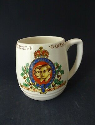 China Commemorative Mug 1937 Coronation King George VI • 9.99£