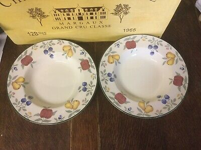 Royal Stafford - Toscana - Rimmed Soup/ Pasta Bowl X 2 - BRAND NEW • 14.99£