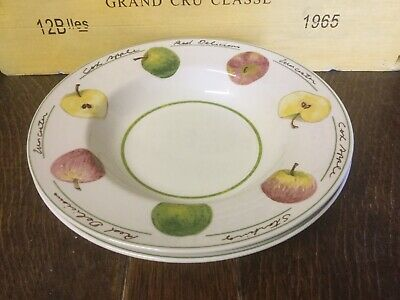 Royal Stafford - Apple - Rimmed Soup/ Pasta Bowl X 2 - BRAND NEW • 14.99£