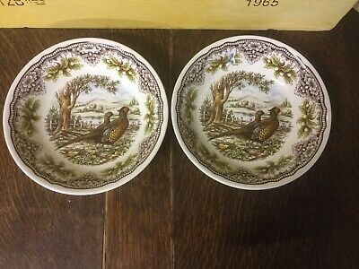 Royal Stafford - Homeland Harvest - Pheasant - Cereal Bowl X 2 - BRAND NEW • 13.99£