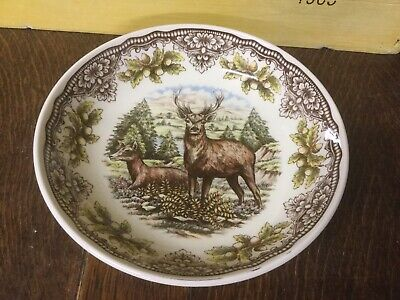 Royal Stafford - Homeland Harvest - Stag - Small Serving / Pasta Bowl BRAND NEW • 14.99£