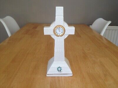 Donegal Parian China Celtic Cross Clock • 33£