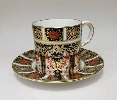 Royal Crown Derby 1128 Coffee Cup And Saucer First Quality • 40£