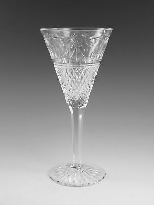 STUART Crystal - BEACONSFIELD Cut (New Shape) - Wine Glass / Glasses - 7 3/4  • 59.99£