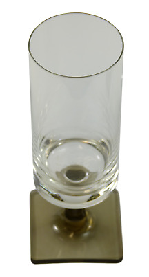ROSENTHAL Crystal - LINEAR SMOKE - Wine Glass / Glasses - 5 7/8  • 19.99£