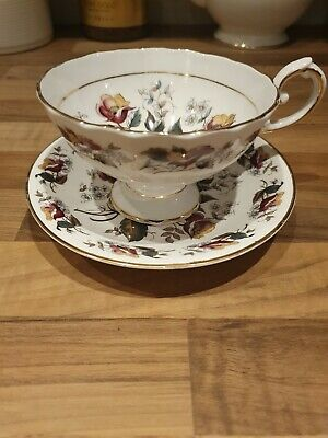 Vintage H&M Royal Sutherland Cabinet Teacup And Saucer • 8.99£