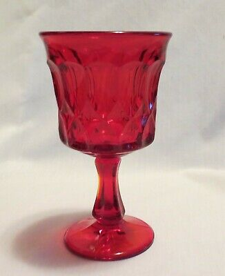 Noritake Perspective Ruby Red Water Goblet(s) • 8.06£