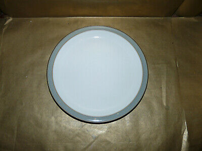 Denby Jet Grey Dinner Plate 10.5  Diameter New • 11.99£