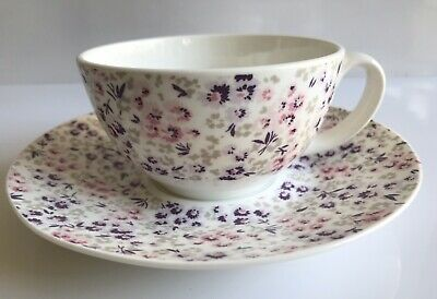 Laura Ashley Bone China Floral Cup And Saucer 2011 • 6.95£