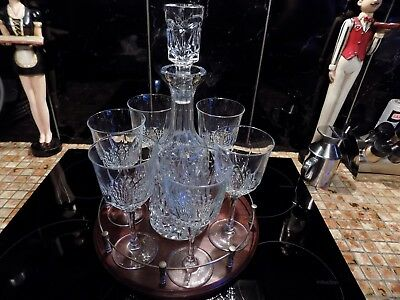 Decanter + 6 Glasses + Stand * • 25£