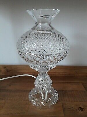 Waterford Crystal Electric Inishmore Lamp. • 420£
