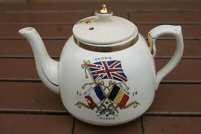 World War One Alliance Tea Pot 1914 • 23.95£