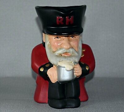 Ibbetson Opus 1998 Chelsea Pensioner Toby Character Jug • 29.90£