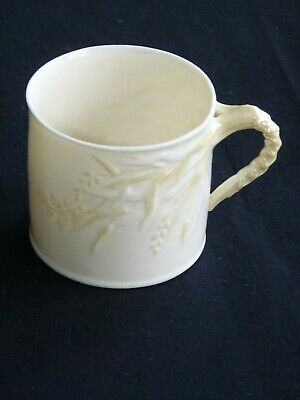 BELLEEK. GRASS 2 3/4  Dia MUG. 2GM. 1955 - 1965 • 18£