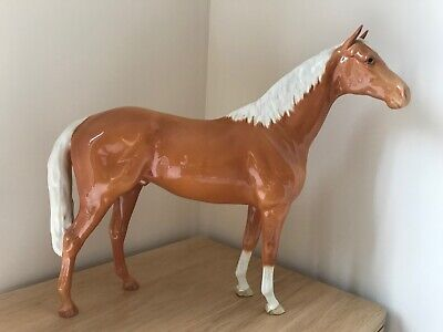 Superb Beswick 1963 Large Palomino Hunter Model No 1734 By Arthur Gredington • 375£