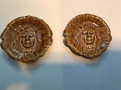 Rare Wade Pottery Native American Indian Dish Big Chief Bon Bon • 125£