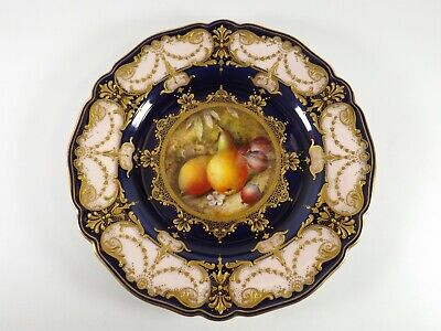 Antique Royal Worcester Plate/ Fruit Study Signed By R Sebright Dated 1926 R384  • 225£