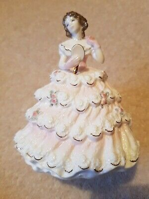 Royal Worcester Figurine, Debutante, Lady Sophie, With Certificate. 12 Cms High. • 10.50£