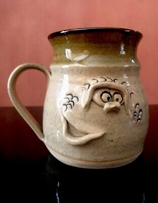 Pretty Ugly Pottery Glazed Mug With Studio Stamp Made In Wales • 6.99£