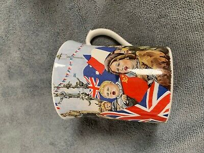 VE DAY 50th ANNIVERSARY MUG - COLLECTABLE • 4.99£