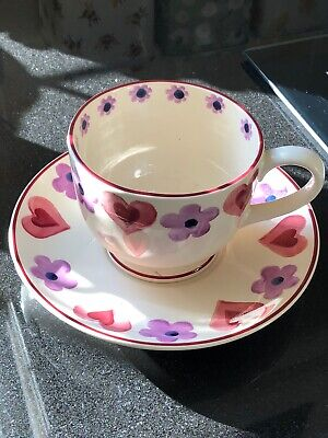 Emma Bridgewater Cup And Saucer • 14.50£
