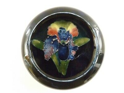 Vintage Moorcroft Dish / Ashtray In The Orchid Pattern  Ref 1461/5 • 8.50£