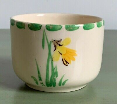Maddock Art Deco Pottery Small Sugar Bowl Hayward's Deansgate Manchester • 3.99£