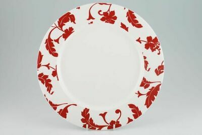 Marks & Spencer - Red Damask - Dinner Plate - 94794G • 19.30£