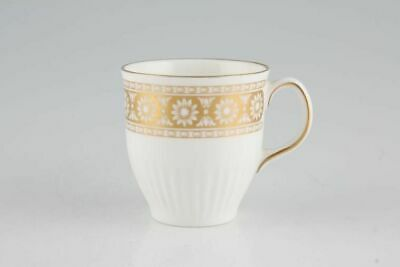 Wedgwood - Marguerite - White + Gold - Coffee Cup - 63756G • 19.30£