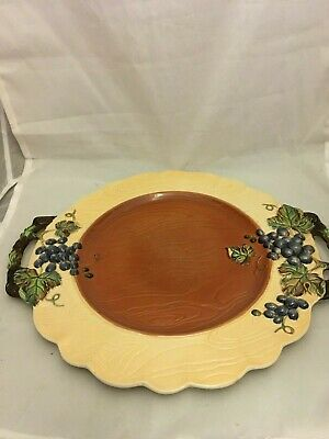 RARE Carlton Ware Australian Design Grape Pattern Plate • 15£