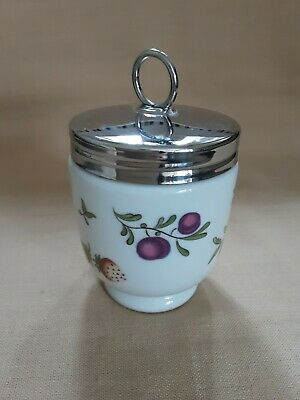 Royal Worcester Rare Covent Garden Design Egg Coddler Used Twice. VGC Unboxed • 10.99£
