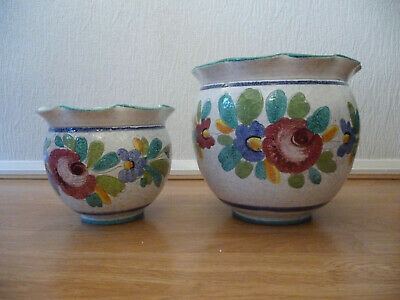 Indoor Plant Pots  X  2.  Collect Ws13 • 12.50£